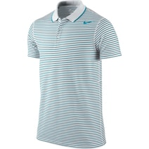 DF COTTON STRIPE PIQUE POLO