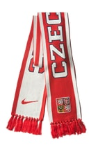 IIHF LOGO SCARF - CZECH/UNIVERSITY RED