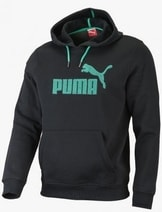 SP Hooded Sweat. Fleece black